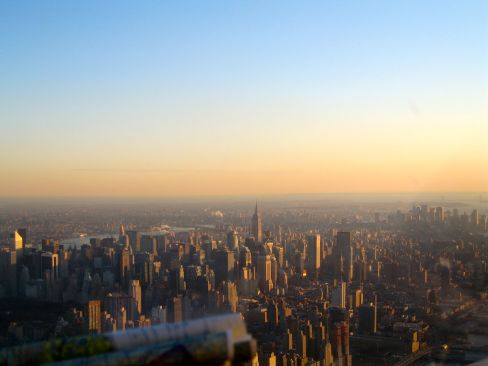NYC captured in 2008 at sunset from the cockpit of a Cessna piloted by my dad.  The first time I realized I would one day be a resident.